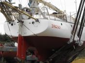 Big external rudder