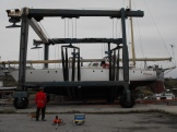 Ready to launch, Newfoundland Oct 2011