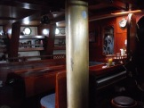 Saloon with teak sole and holly ceiling