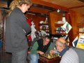 Chess in Saloon on a wet and windy night