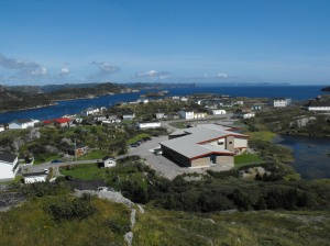Big view of Burgeo, Newfoundland